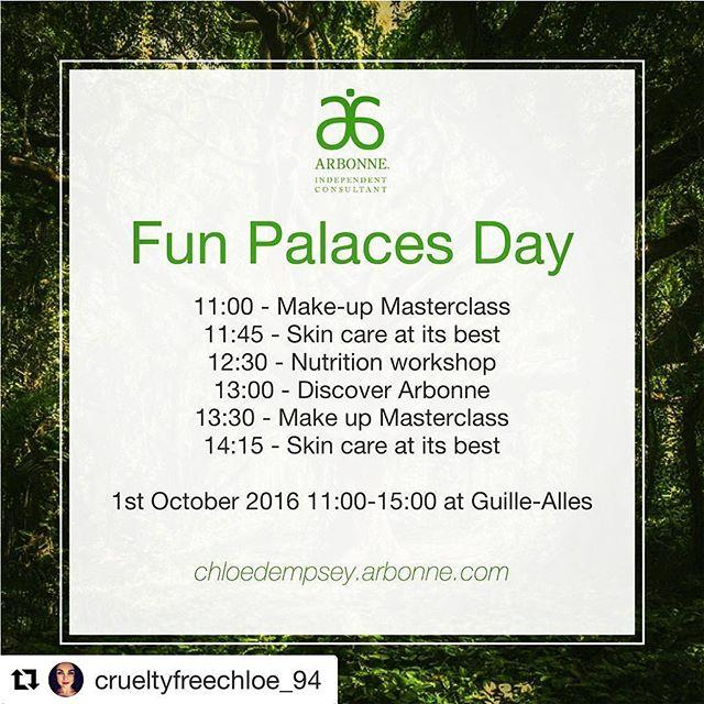 #Repost crueltyfreechloe94 with repostappCome and enjoy the community spirit at Fun Palaces Day this Saturday gylibrary #guernsey  cant wait to share the pure, safe, beneficial products, top tips and general wellbeing education! See you there #arbonnelove #communityspirit #islandlife #guernseylife #thingstodoguernsey