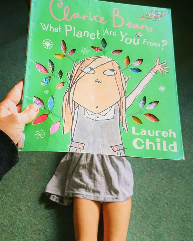 #bookfaceFriday has come around quickly, and were all looking forward to a stellar weekend! Hope its out of this world!#facebook #friday #bookface #instagram #laurenchild #lauren #child #childrensbooks #children #picturebook #clarice #bean #claricebean #planet #space #spacepuns #badpuns #library #libraries #librariesofinstagram#librarylife #librariesofinstagram #showmeyourbookface #guernsey #channelislands #guernseylibrary #gylibrary