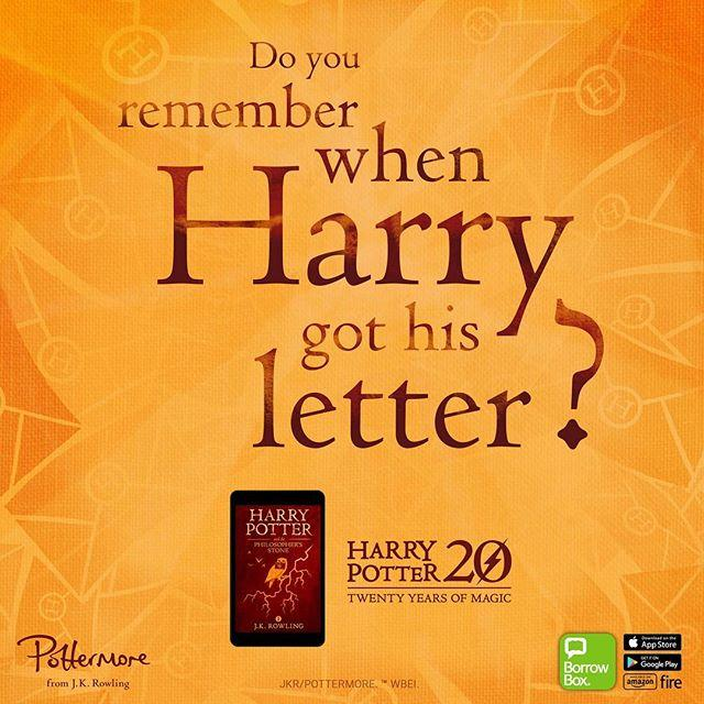 Its 20 years since we first met Harry Potter! 26 June 1997 was the publication date for Harry Potter and the Philosophers Stone  To celebrate 20 years of magic, from today until Sunday 9 July we have unlimited copies of that first book available on our eBook platforms BorrowBox and Overdrive. Download for free with no waiting lists or reservations  Get started at www.library.gg/ebookseaudiobooks