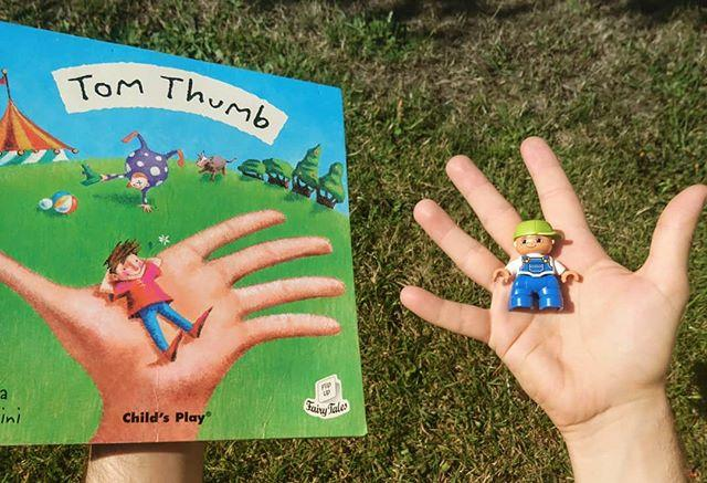 Tommy Thumb, Tommy Thumb, where are you? Typical! We take a break from TOTS for the holidays and all the nursery rhyme characters take a #bookfacefriday break!#bookface #friday #gylibrary #library #libraries #librariesofinstagram #librariesofig #guillealles #tomthumb #nurseryrhyme #showmeyourbookface #childrensbooks #picturebook #picturebooks #children #childrenslibrary