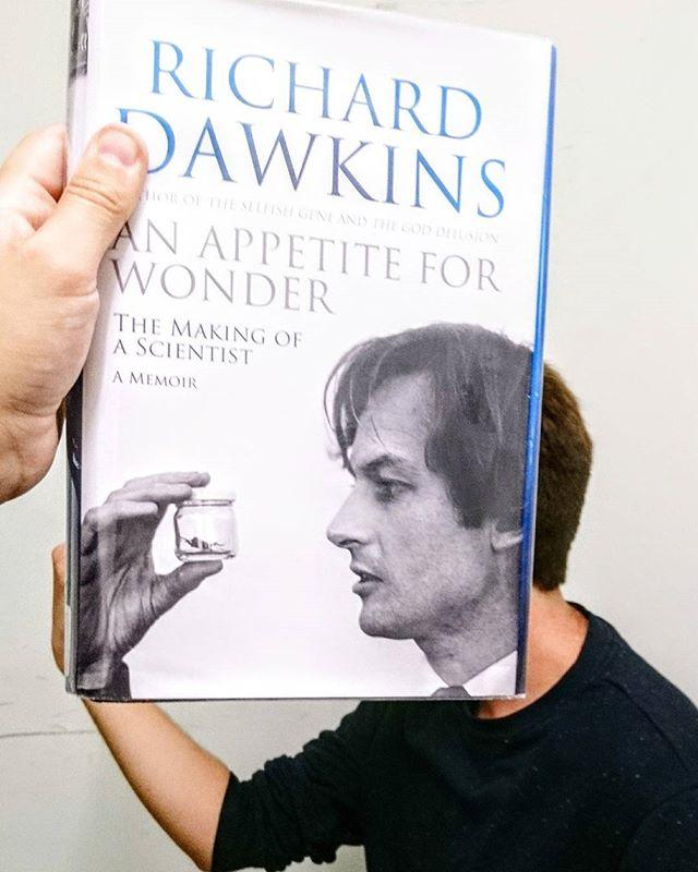 Hungry for knowledge? Its #bookfacefriday and were a week away from Professor #RichardDawkins  appearance at the jerseyfestivalofwords #bookface #book #bookstagram #library #libraries #librariesofinstagram #librarylife #appetiteforwonder #anappetiteforwonder #professor #richard #dawkins #professorricharddawkins #jersey #guernsey #channelislands #jerseyfestivalofwords #gylibrary