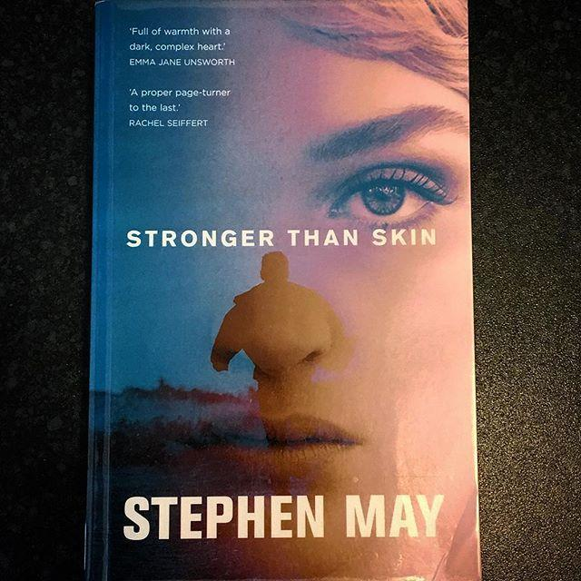 A book for the weekend Stronger than Skin by Stephen MayMark Chadwick is cycling home, eager to get back to his family, when he sees the police calling at his house.Mark cycles on  he knows why theyre there. The secrets hes buried for 20 years are about to confront him. Unless he can stay out of sight long enough to persuade his former lover to retract her confession to murder, Mark is going away for a very long time...From the author of Life!Death!Prizes!, Stronger than Skin is a proper, twisting pageturner that grips to the last. Reserve it at www.library.gg#fridayreads #bookstagram #books #bookpick #libraries #strongerthanskin #booksarelife