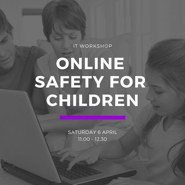 In a world of scary headlines, keeping your kids safe online can seem tough.We can help!At 11.00 on Saturday 6 April were running an IT workshop for parents called Online Safety for Children. Find out how best to keep your kids safe, and make sure their online experience is as fun and inspiring as they deserve.This workshop is free but booking is essential. Get your ticket at www.library.gg/events